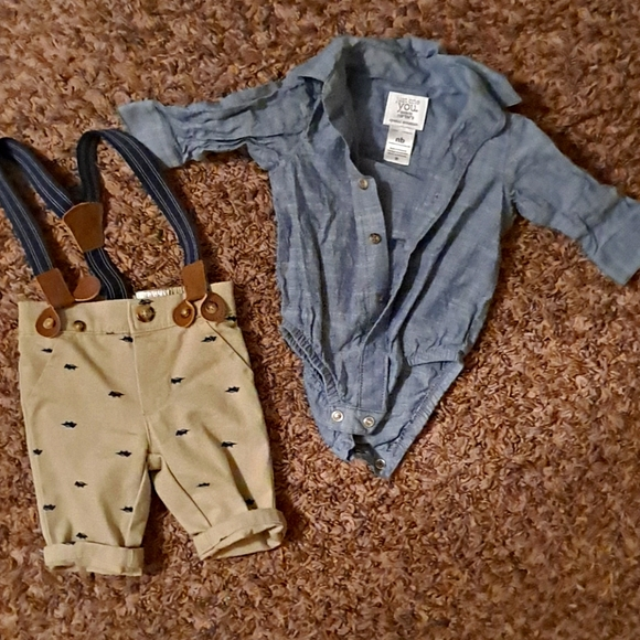 Two piece outfit for baby
